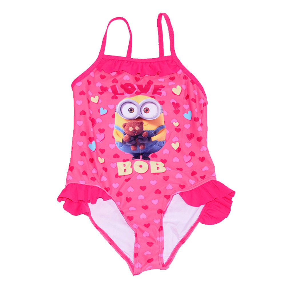 Maillot 'Minions' pour fille -Taille 3-4 ans