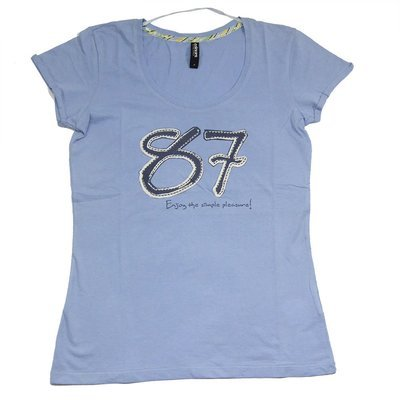T-shirt 'Colours of the world' pour femme- Taille S