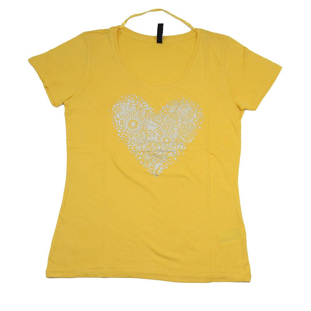 T-shirt 'Flame' pour femme - Taille L