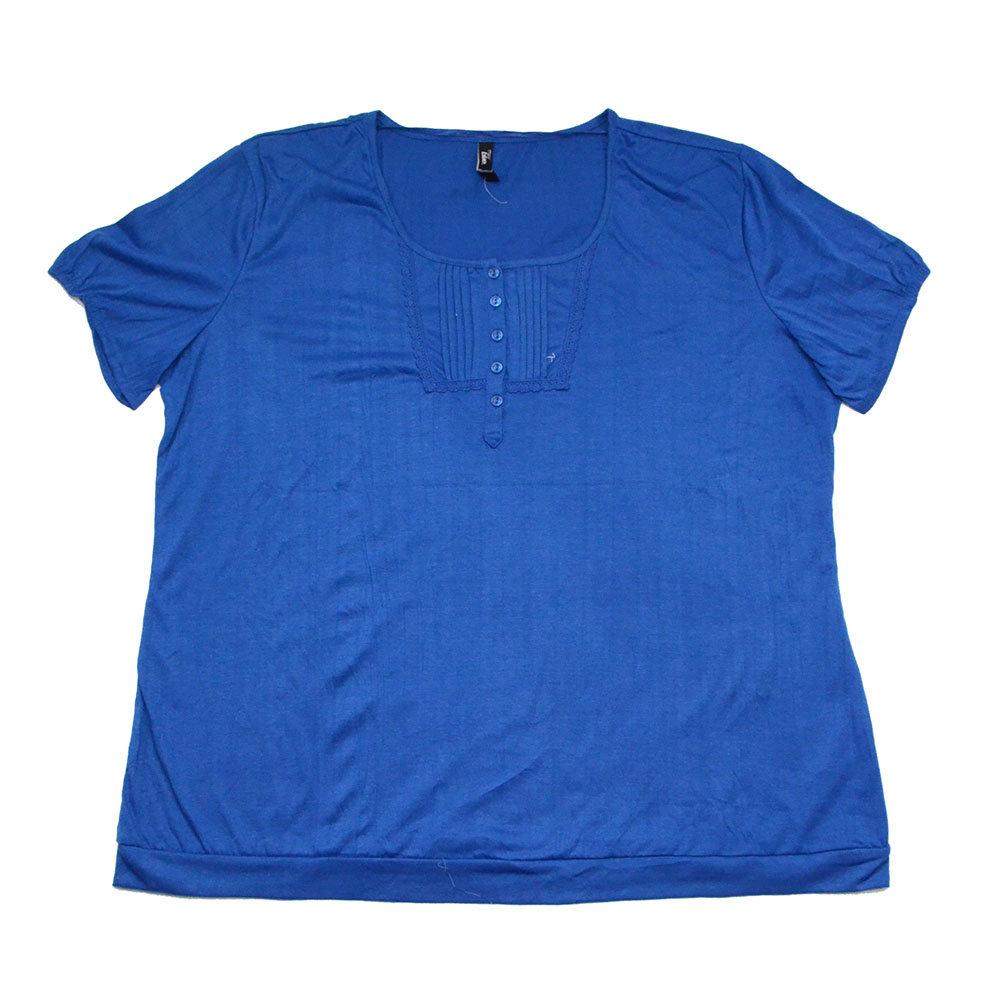 T-shirt 'Maxi Blue' pour femme - Taille 46