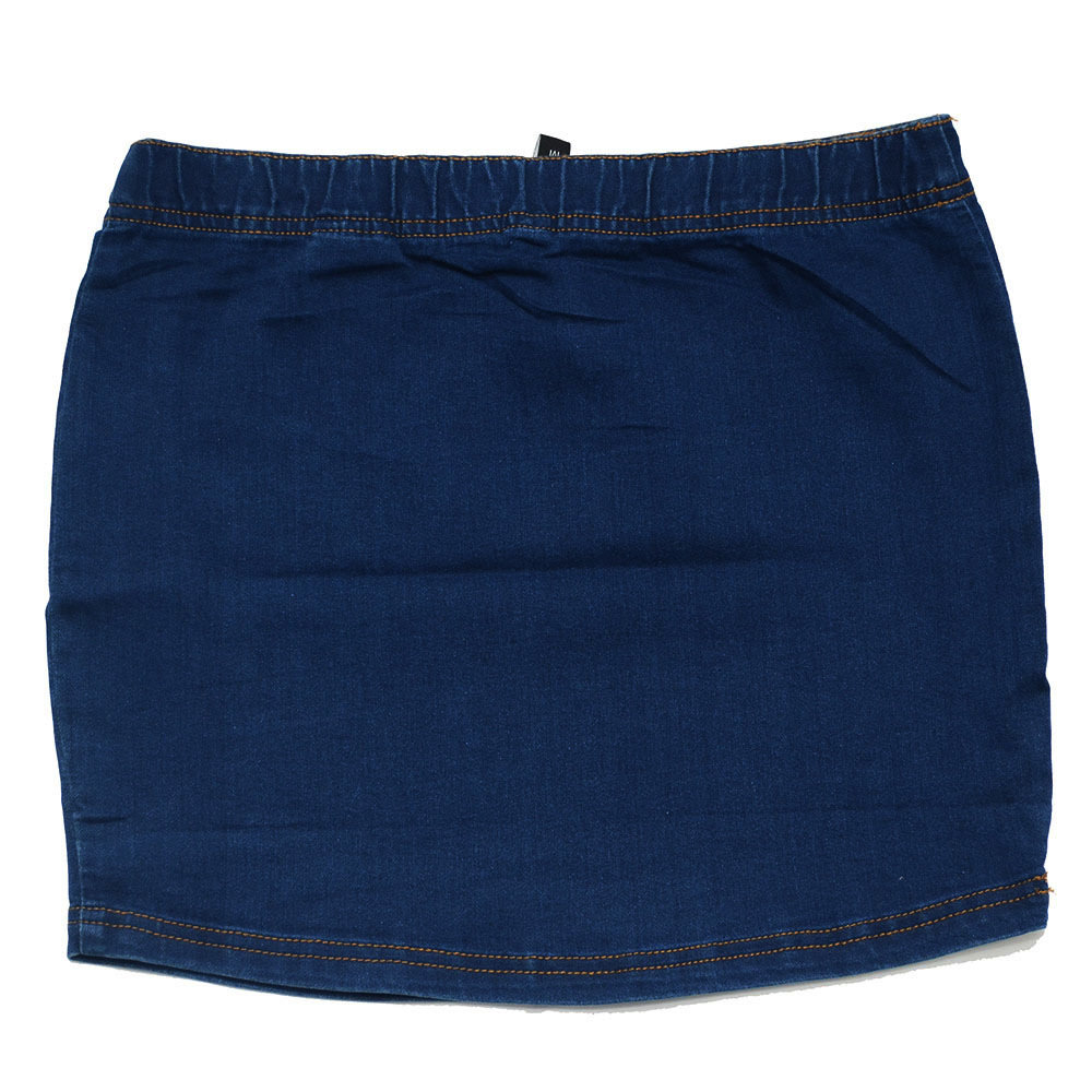 Jupe Jeans 'Page One' pour femme - Taille M