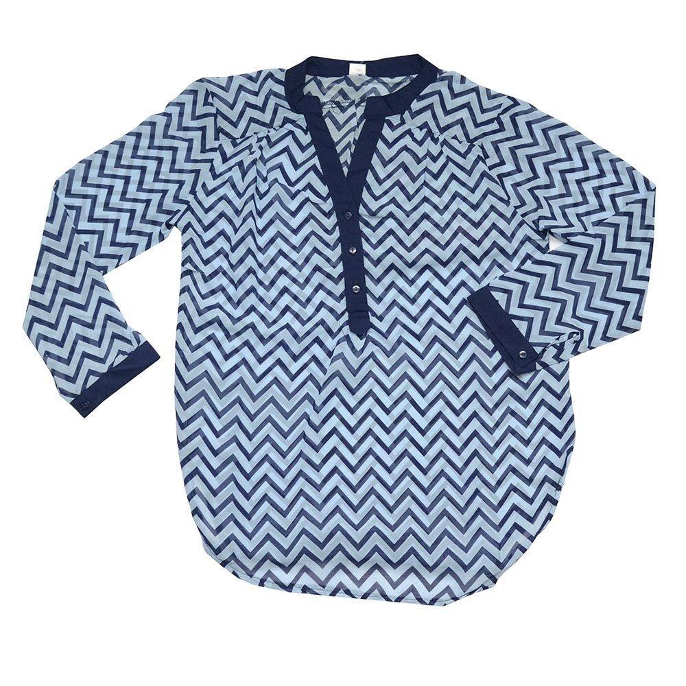 Chemise pour femme - Bleu- Taille S