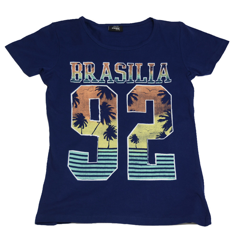 T-shirt 'Brasilia' pour fille 'Page One Young'- Taille 15-16 ans