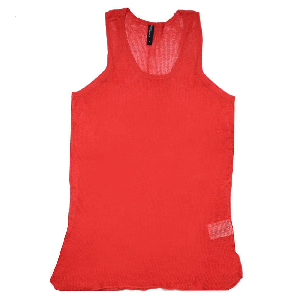 T-shirt 'Jean Pascale' pour femme- Rouge -Taille M