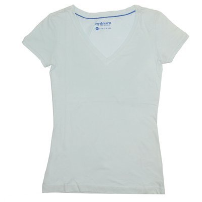 T-shirt 'Colours of the world' pour femme - Taille L
