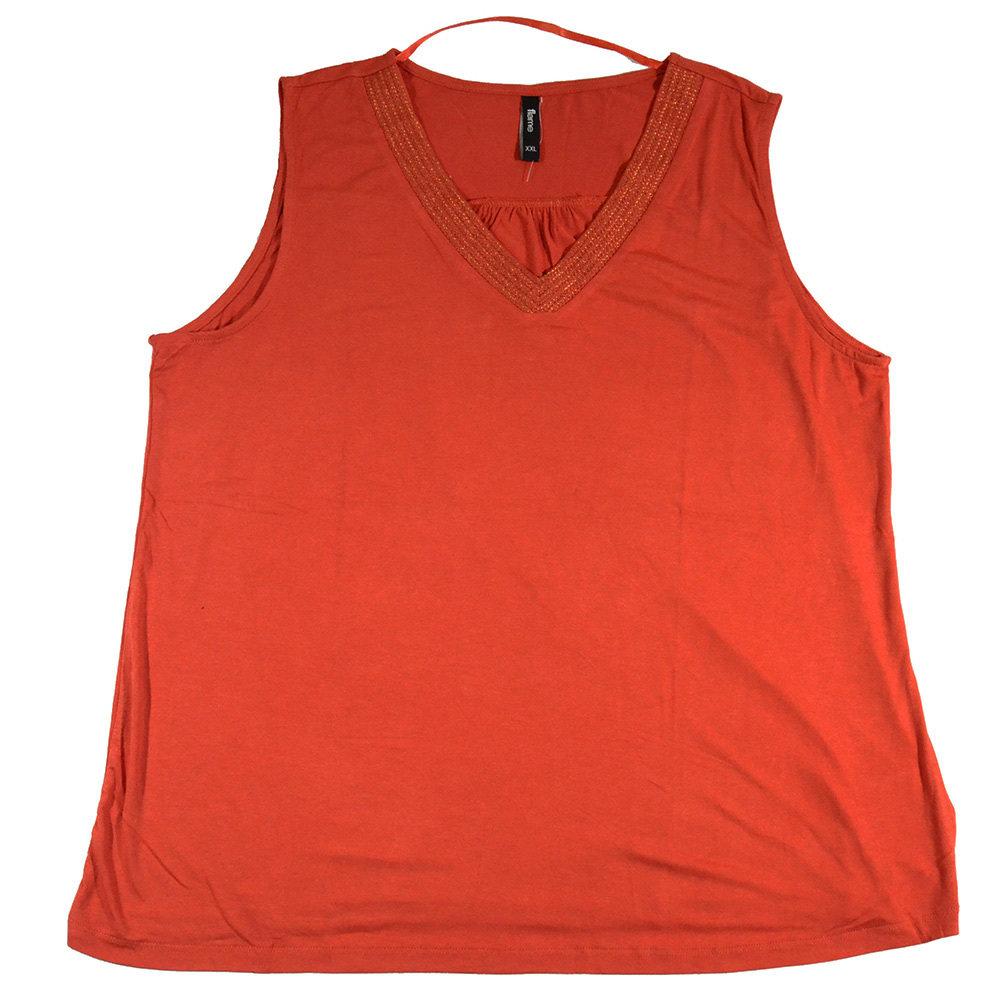 T-shirt 'Flame' pour femme- Taille XL