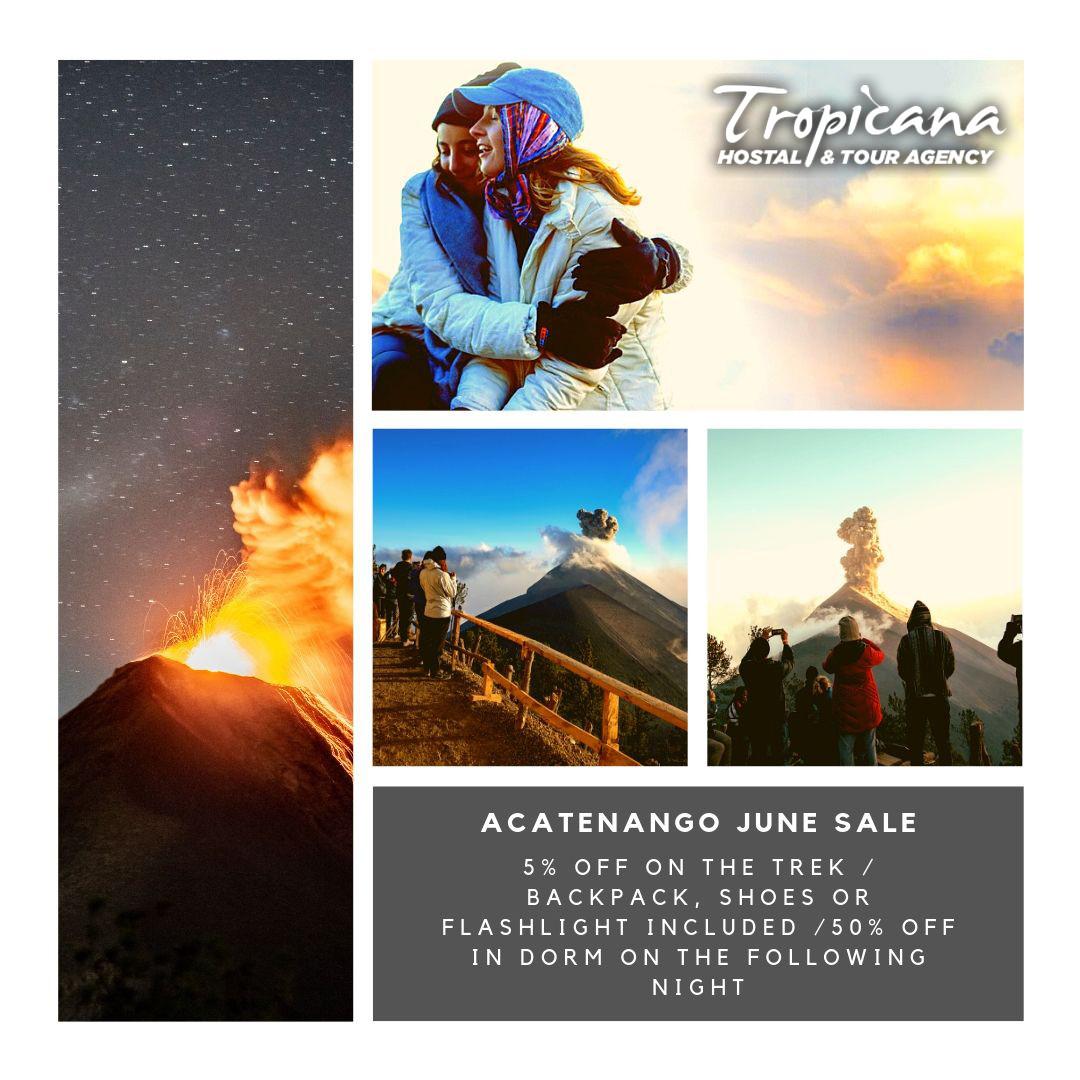 Acatenango June Sale