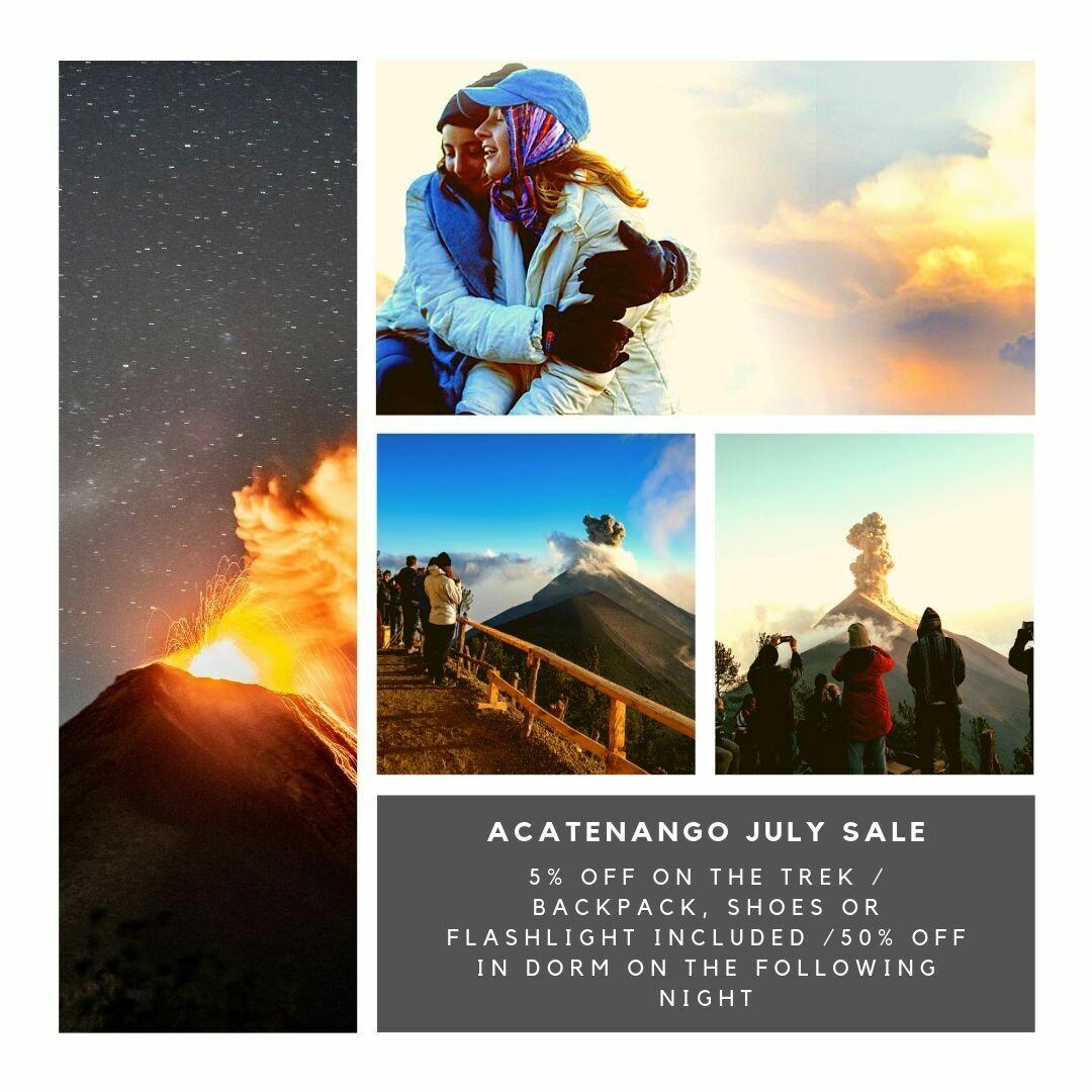 Acatenango July Sale