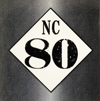 NC 80 Road Sign Sticker - FREE SHIPPING!