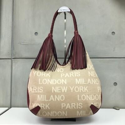 Viola - Linen & leather