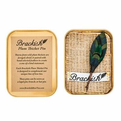 Brackish Billings Plum Thicket Pin