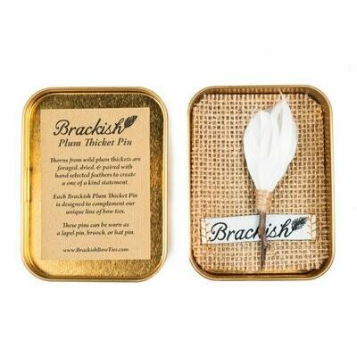 Brackish Beckham Plum Thicket Pin