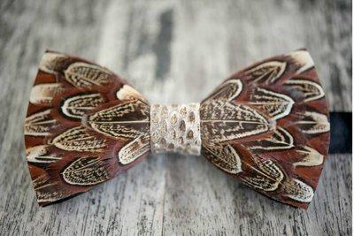 Brackish Pheasant w/ Snakeskin Bow Tie