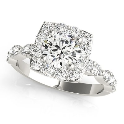 Halo Style Diamond Rings for Sale Halo Design Diamond Rings at