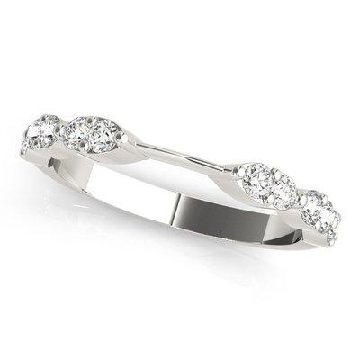 Decorative Diamond Wedding Bands Mikado Diamonds
