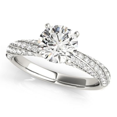 a969cba9698001 Galatia Spiral Engagement Ring Setting (1/2 ctw.) MD51029