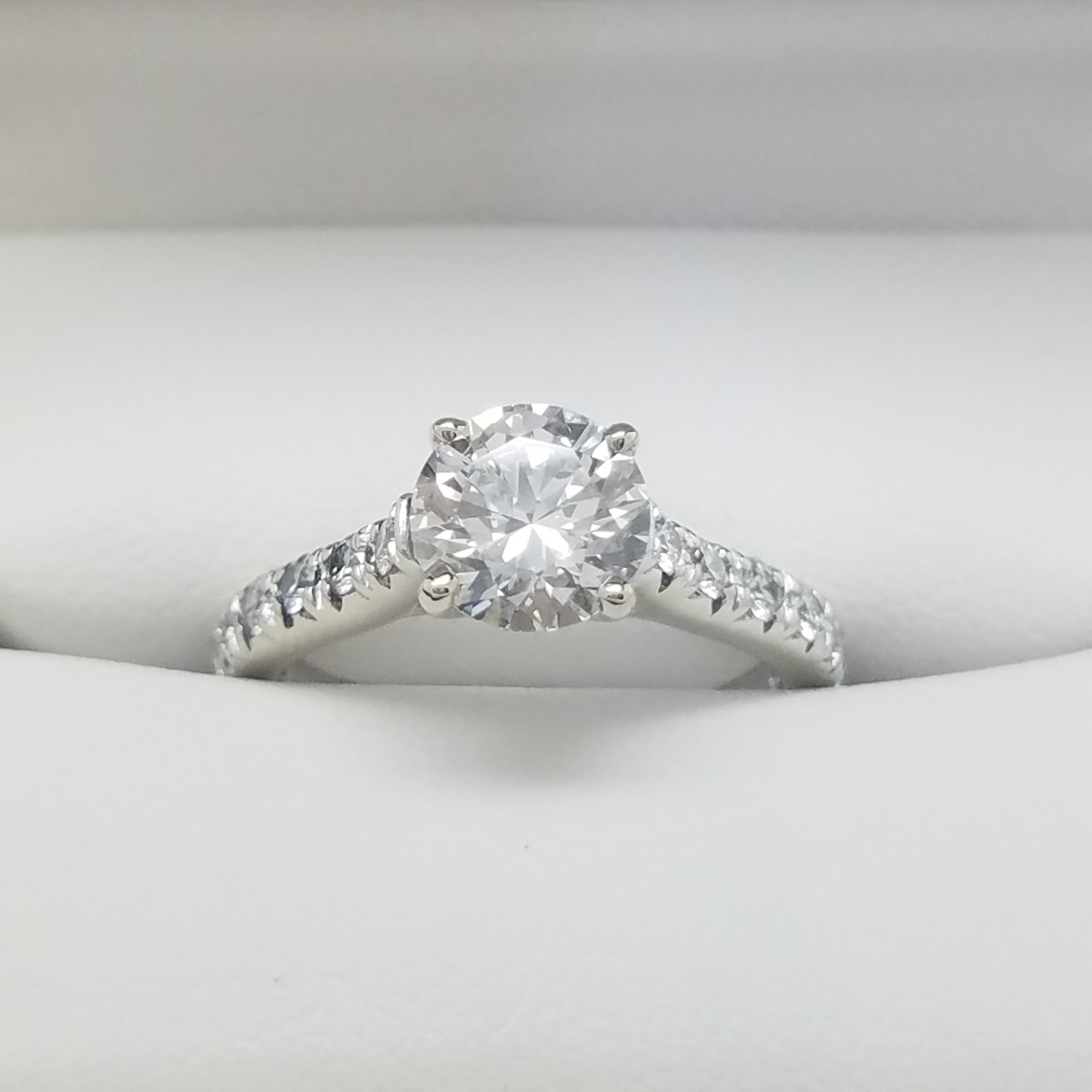 full to bezel ring size cuts set diamonds wedding vs prong an low of buying halo much spend types engagement pave diamond profile rings setting how cathedral