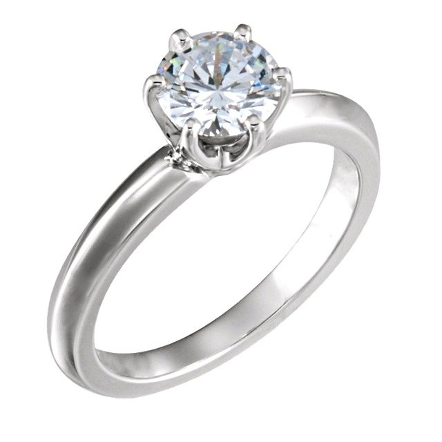 54bd5a4e1173d 2.00 ct. E/SI1 Round 6 Prong Low Solstice Solitaire Diamond Engagement Ring