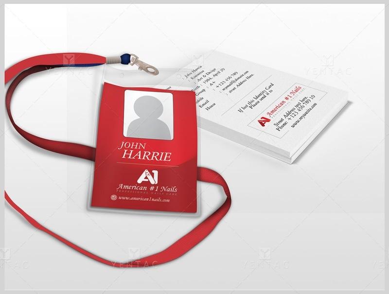 06 - Plastic ID Card - A1 Nail Spa #1001