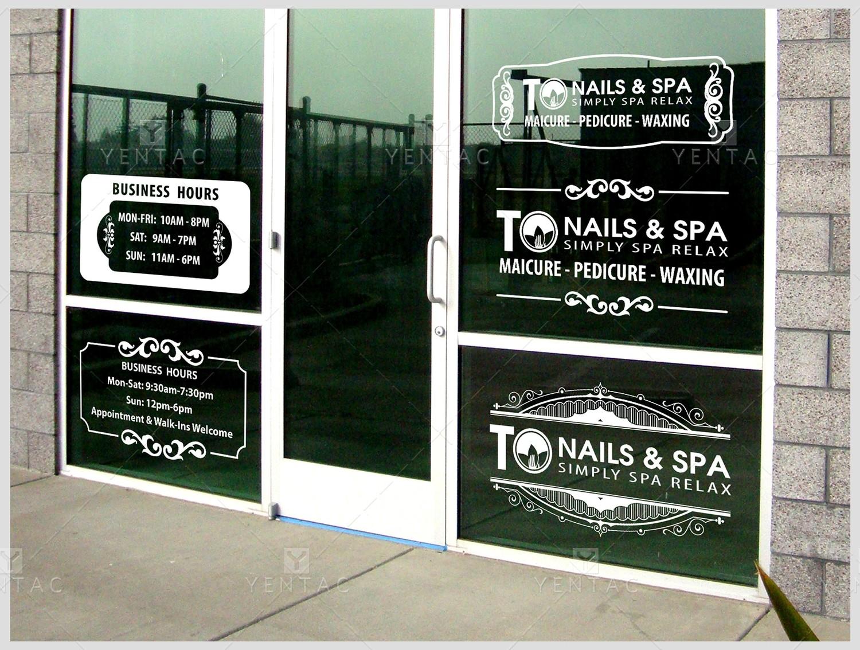 01.2 - Business Hour Door Window Design