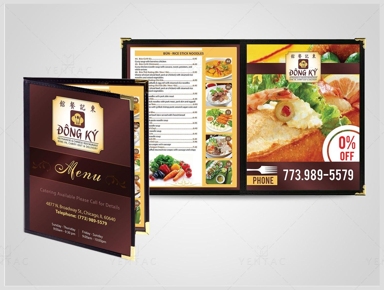 03 - Menu Dine-In - Restaurant #5125 Dong Ky