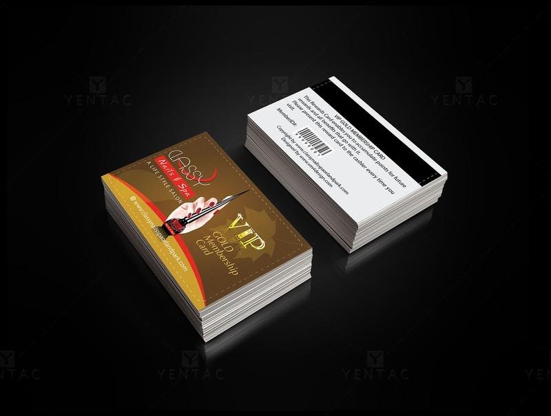 Plastic VIP Card - Nail Salon GCD-00990