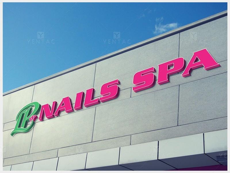 08 - Signage Solution - LP Nails Spa #5069 Salon