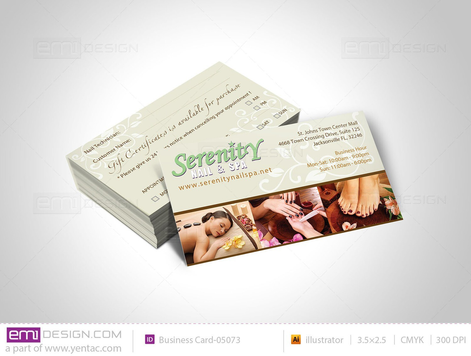 Business Card - Template buscard-05073