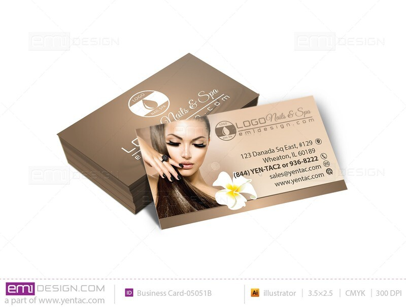 Business Card - Template buscard-05051B