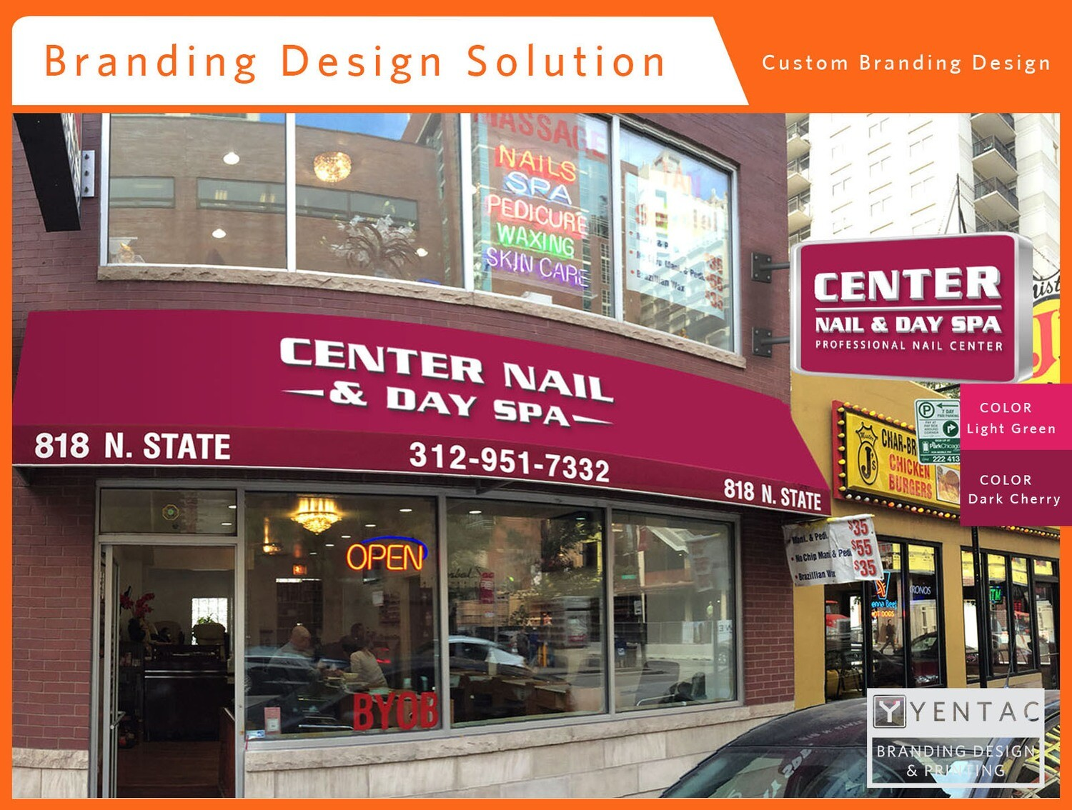 00 - Branding Design - Nail Salon #5053 Center Brand