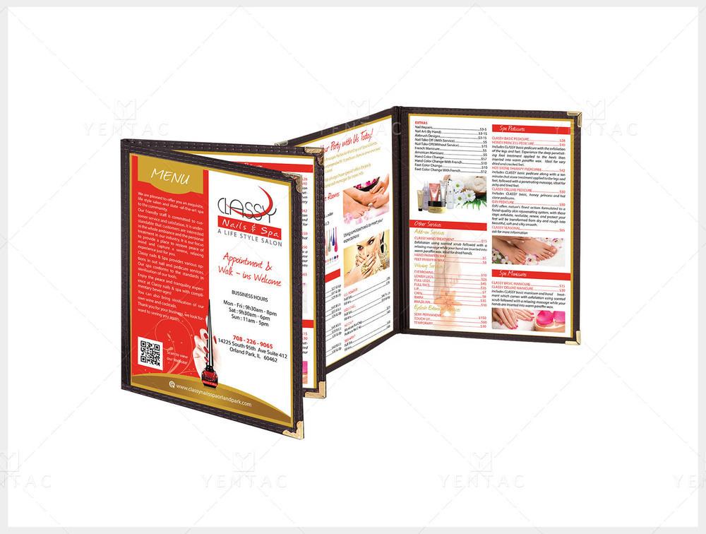03 - Menu Book - Client ID #0990 Classy Brand