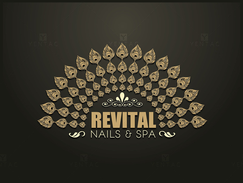 01 - Logo - Nails Salon #5010 Revital Brand