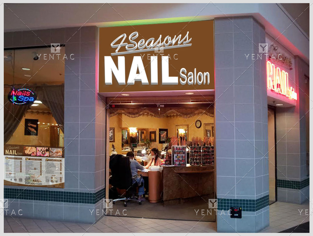 01 - Price List Design - 4Seasons Nail Salon #5100