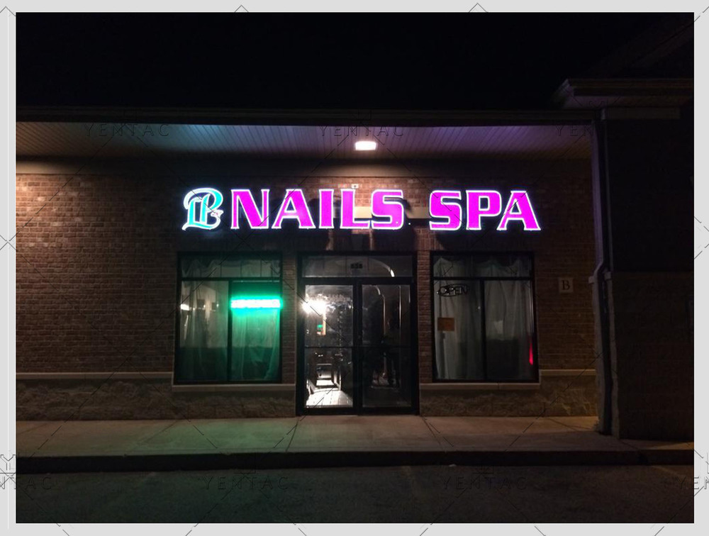 01 - Logo Design - LP Nails Spa #5069
