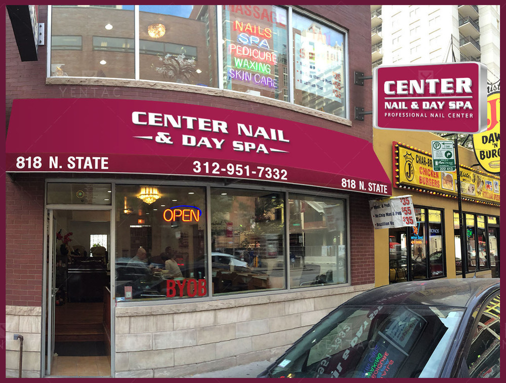 08 - Signage Solution - Nail Salon #5053 Center