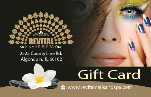 Gift Card Purchase - Revital Nails & Spa - (847) 915-6131 This Location Only