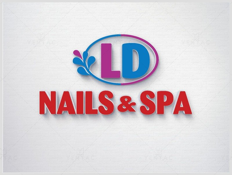 01 - Logo - Nail Salon #50117 LD Brand