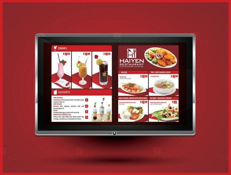 09 - Menu Digital - Restaurant #5125  Dong Ky