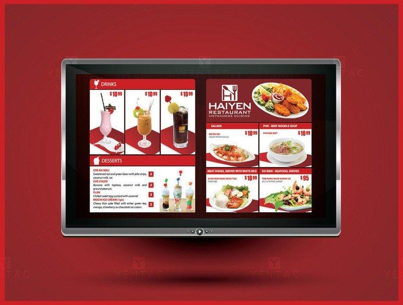 09 - Menu Digital - Restaurant #1003  Hai Yen