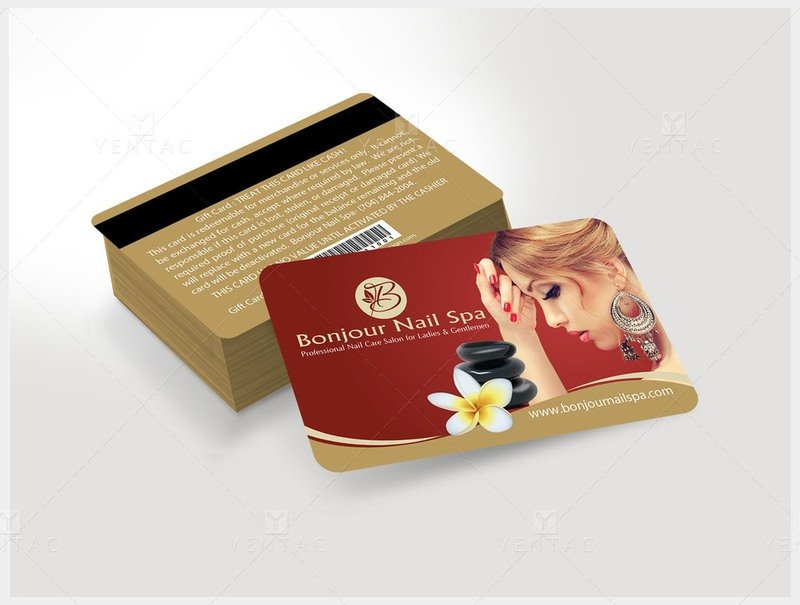 Plastic Gift Card - Template GCD-05070
