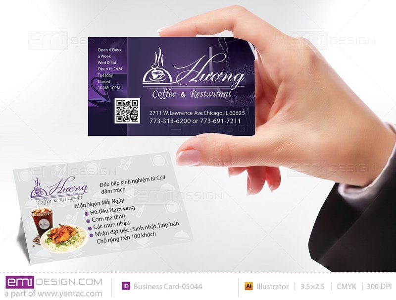 Business Card - Templates buscard-05044
