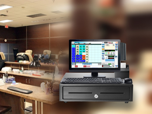 Elite Windows System POS Nails Salon System