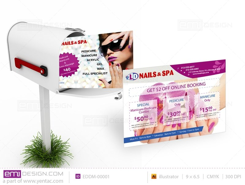 Every Door Direct Mail - Template EDDM-00001