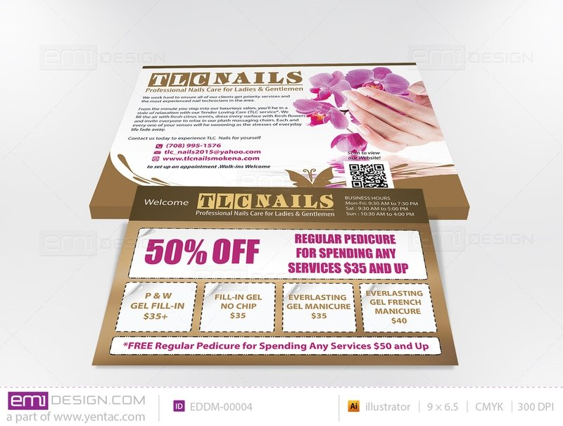 Every Door Direct Mail - Template EDDM-00004