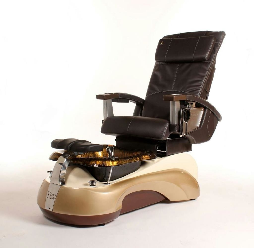 Pedicure Spa Chair - Dark Gold