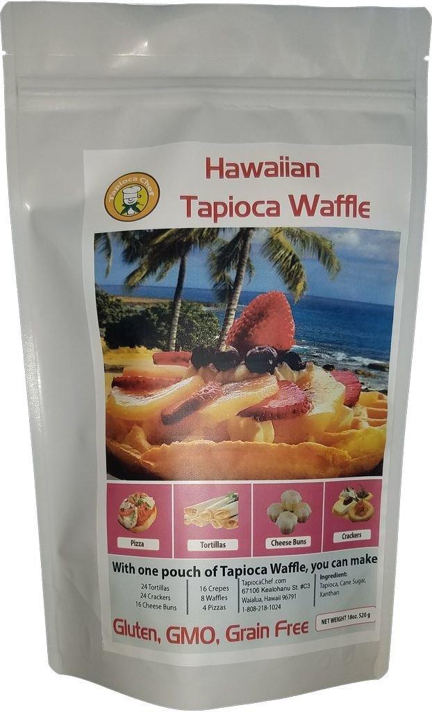 Hawaiian Tapioca Waffle 110