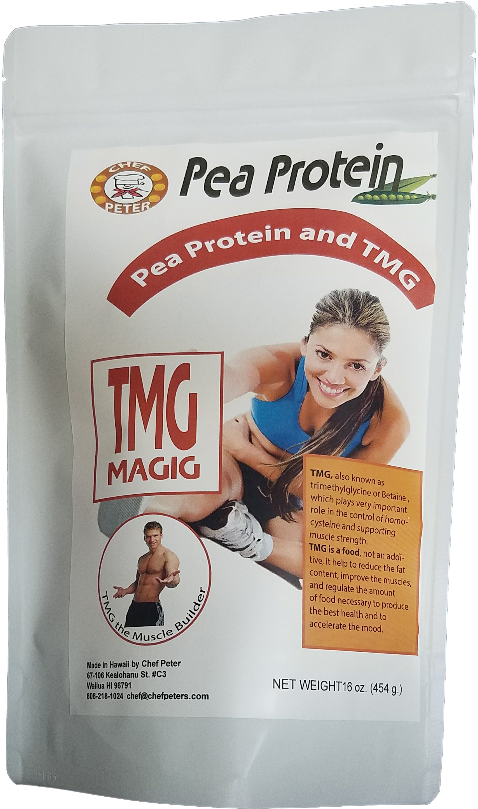 Pea Protein with TMG 102