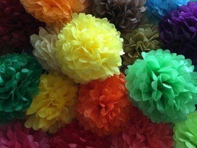 Tissue Poms Poms 12