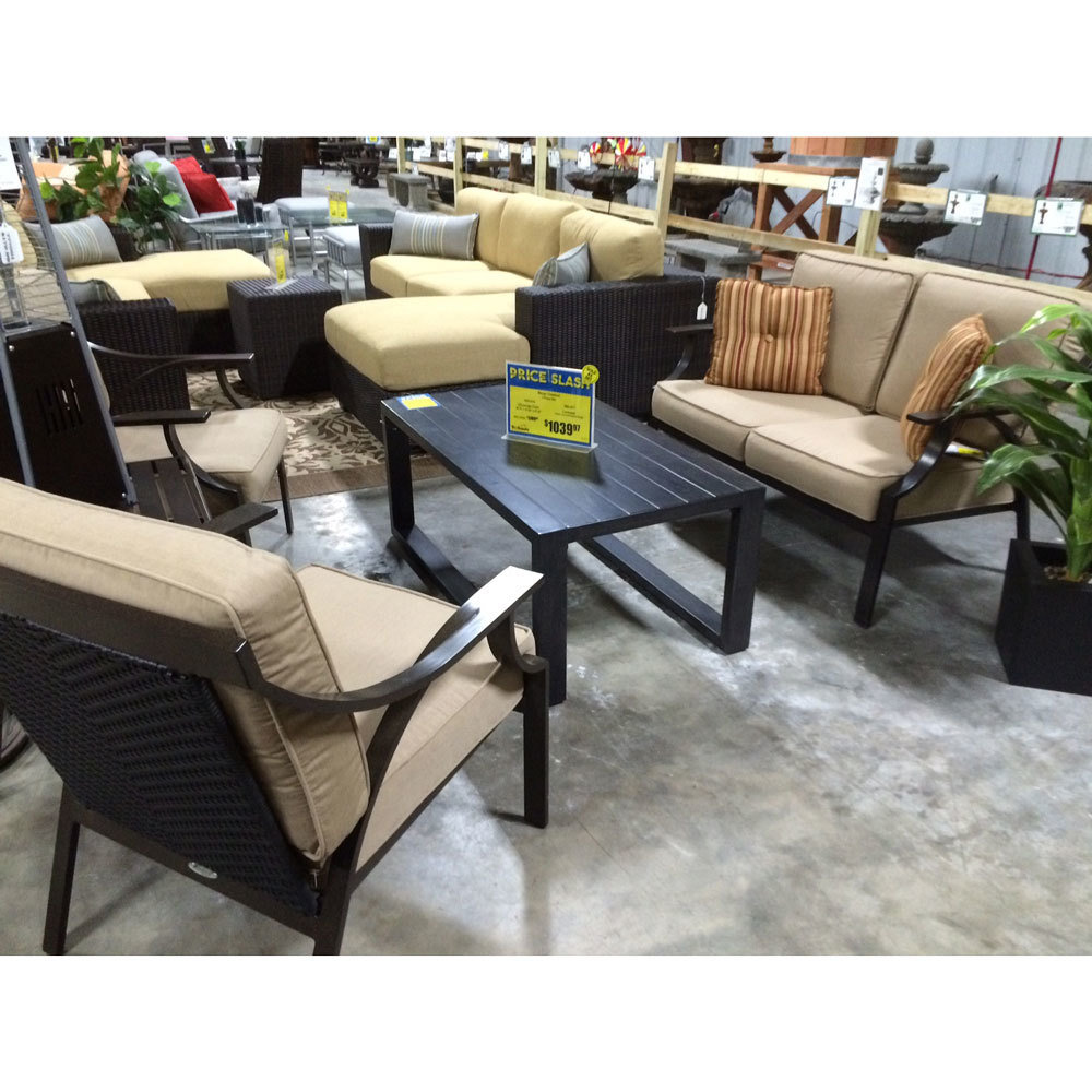 Merge Chestnut 3 Piece Patio Set