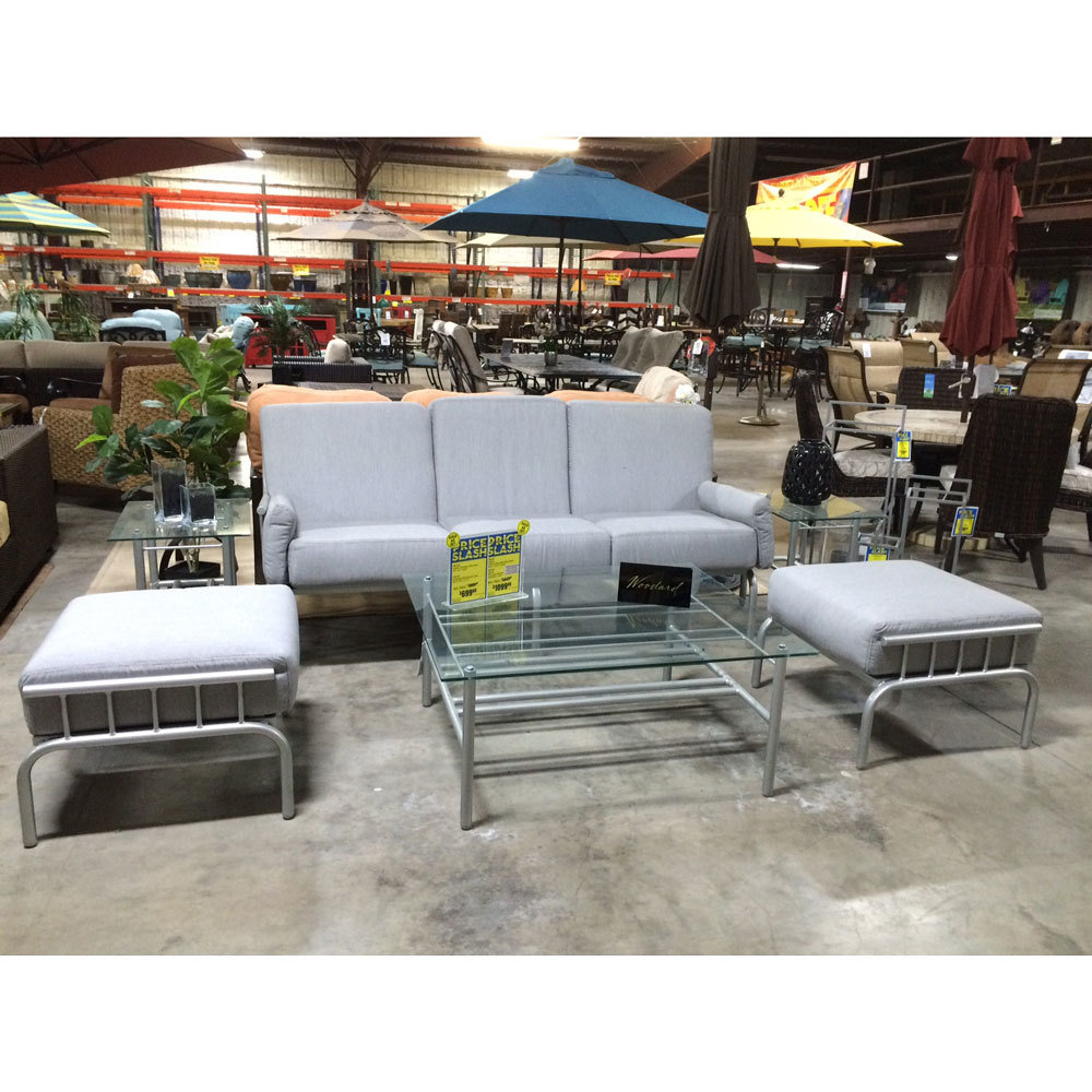 Uptown Chromite Coffee and End Table set W-000016